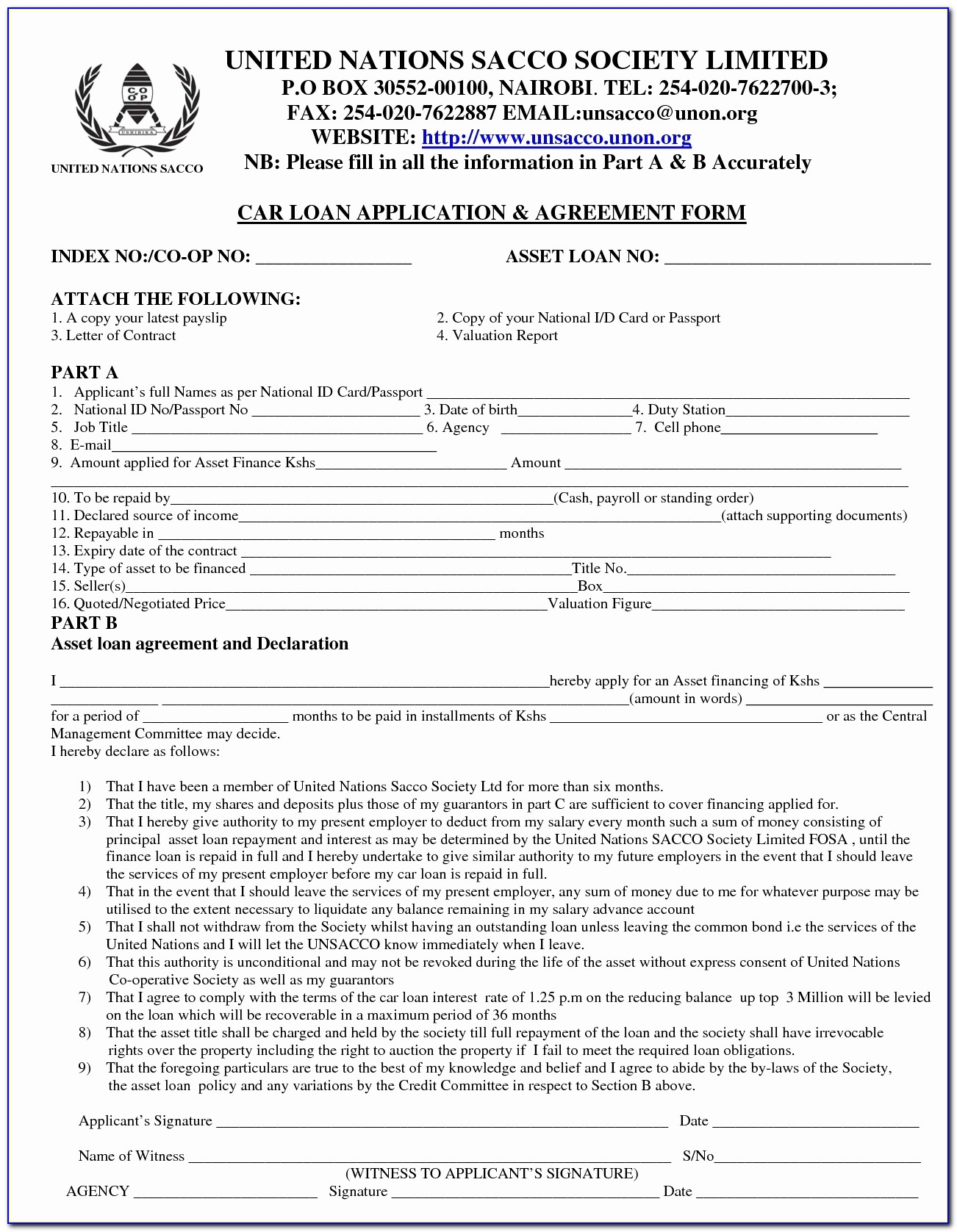 Private Car Loan Contract Unique Auto Loan Agreement Sample Form Free