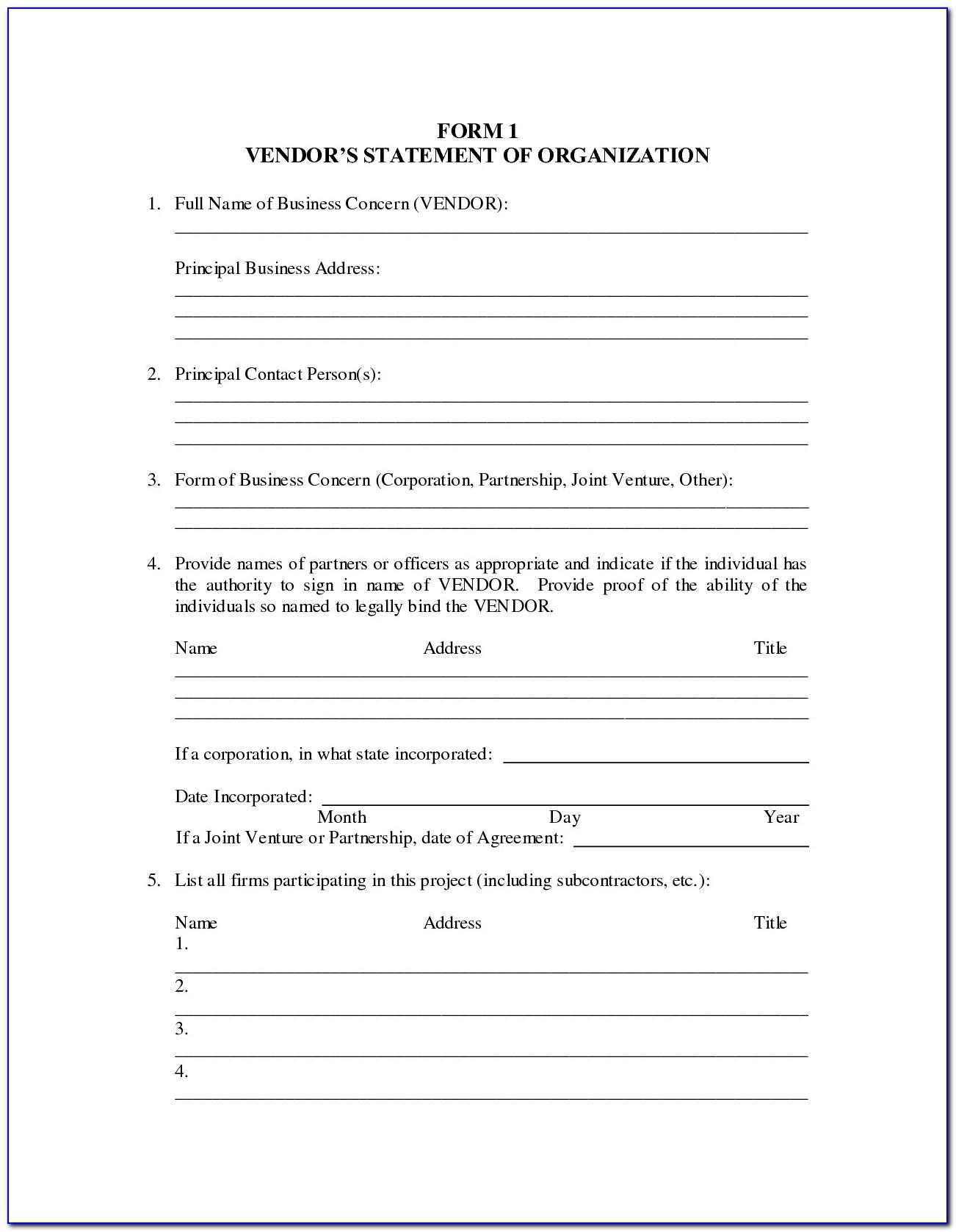 Curriculum Vitae Blank Format Pdf