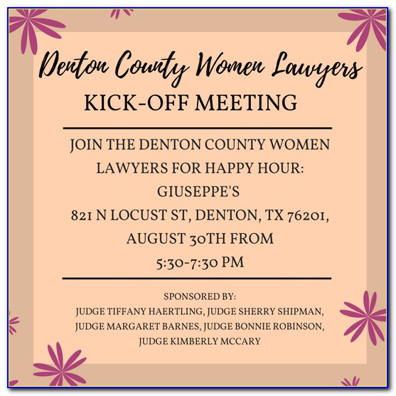 Denton County Divorce Filing Fees
