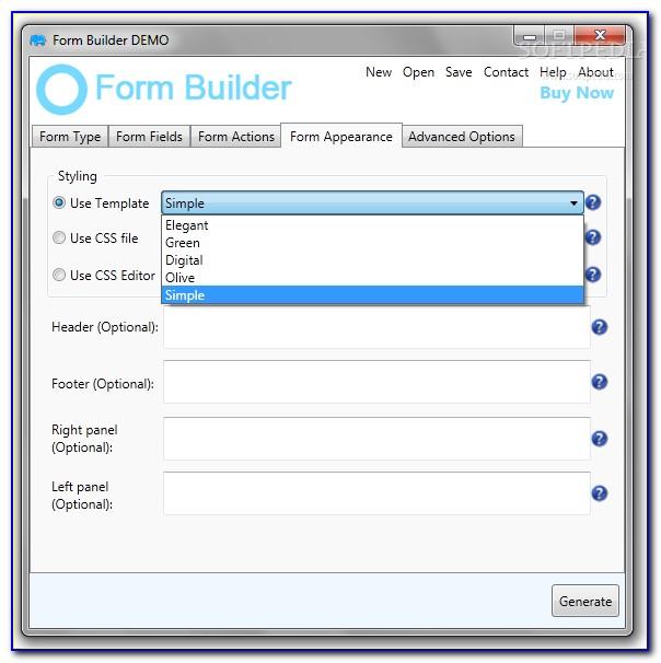Dynamic Form Builder Angular