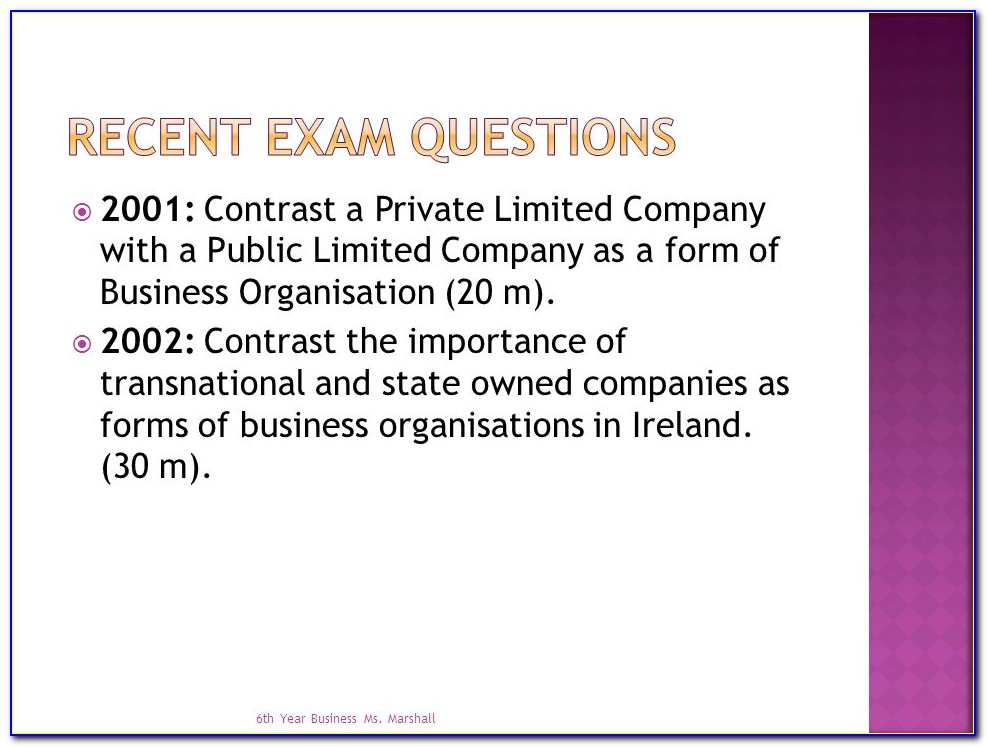 Forming A Limited Company In Ireland