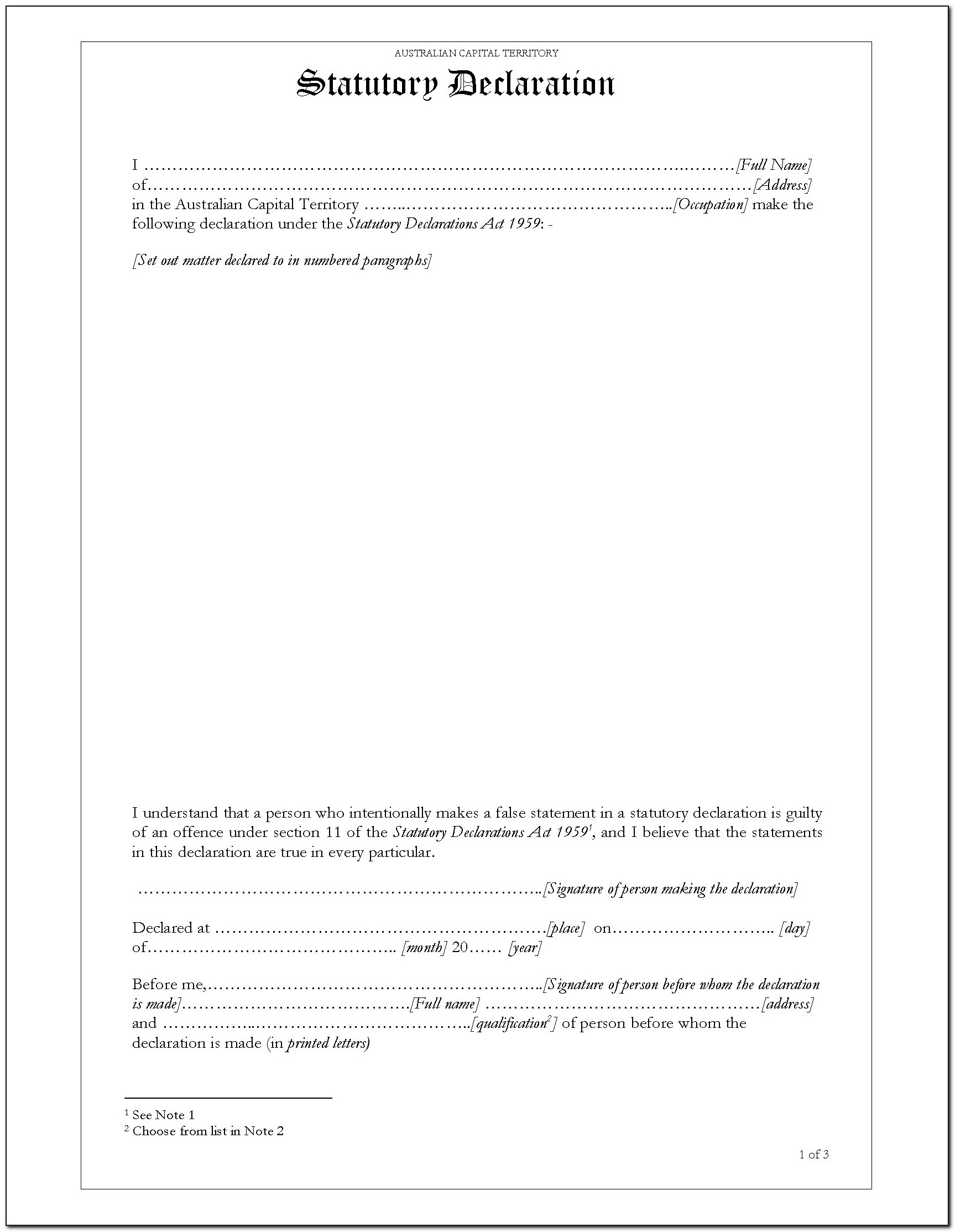 Free Affidavit Form Download Philippines