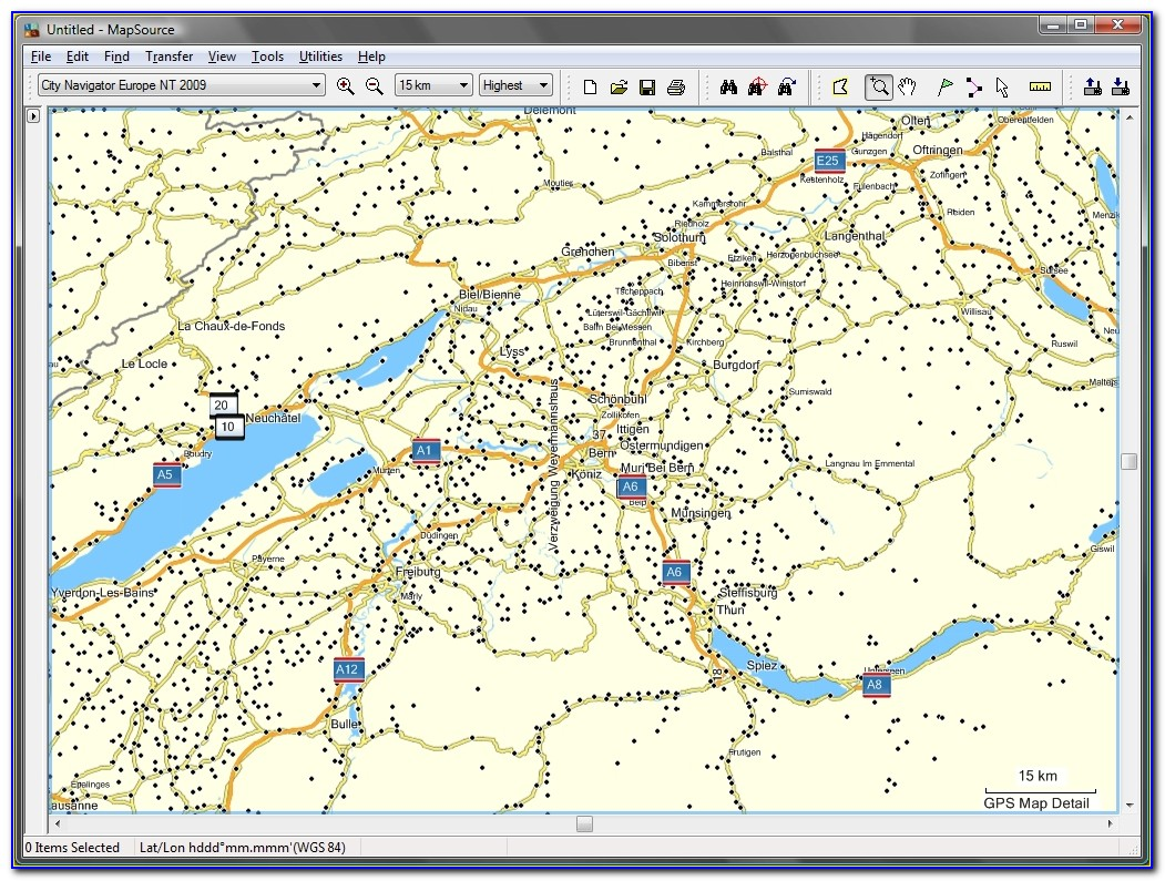 Garmin City Maps North America