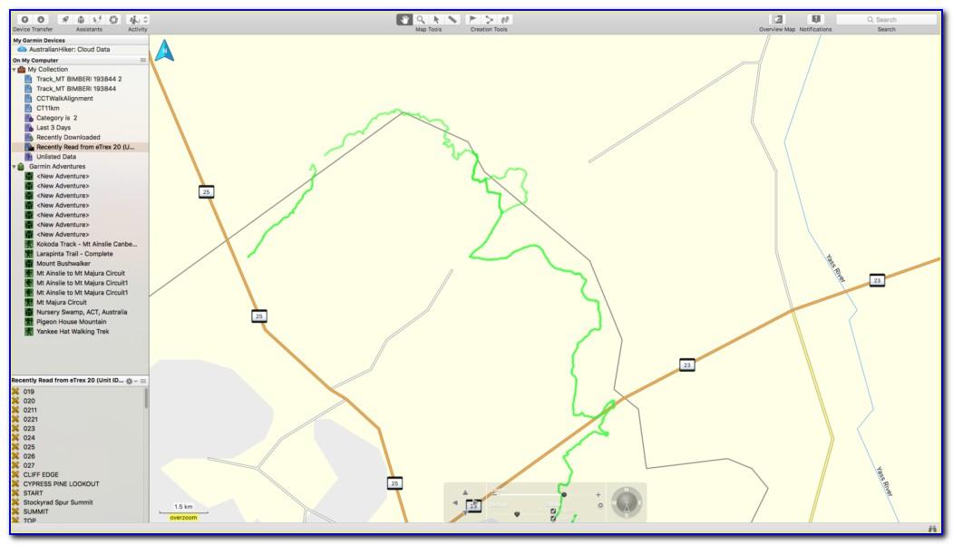 Garmin Etrex 20x Maps