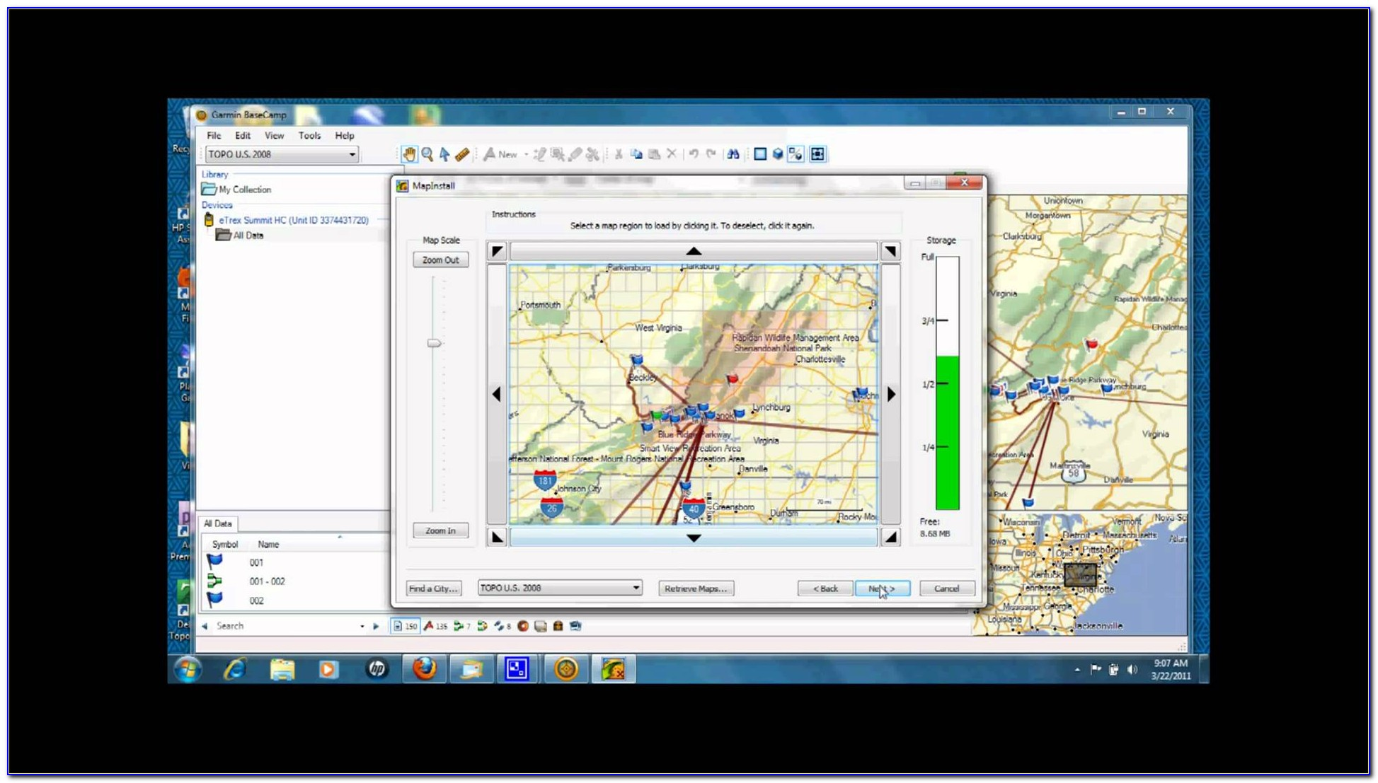 Garmin Etrex Mapping Software