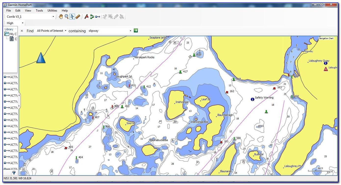 Garmin Marine Maps South Africa