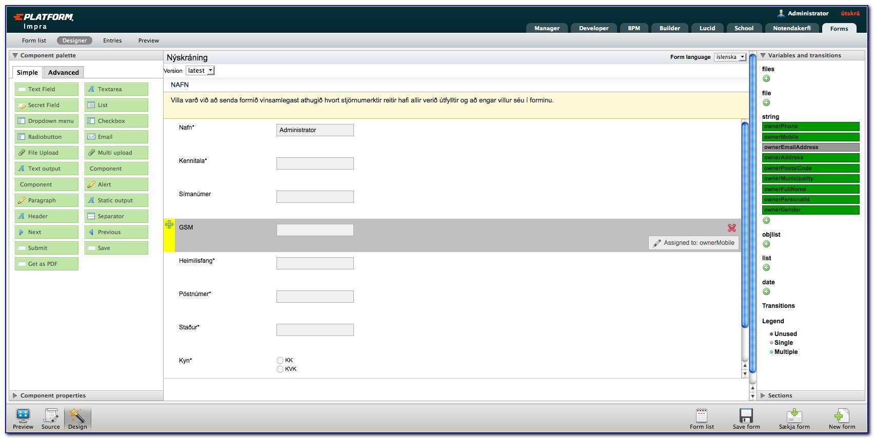 Html Form Generator Open Source