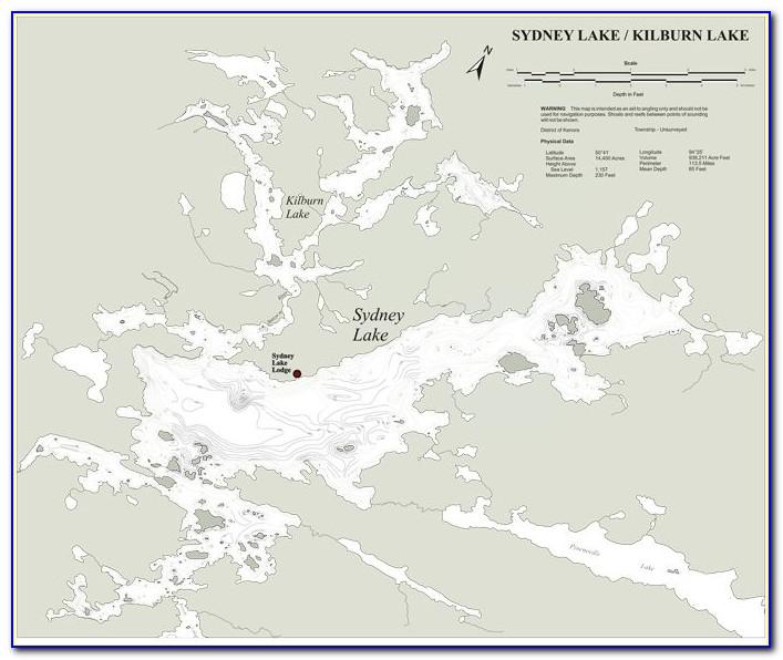 Lake Ontario Fish Map
