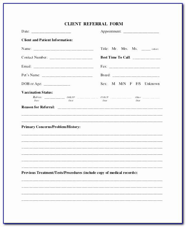 Referral Form Real Estate Referral Form Real Estate Form Sample Dental Referral Form Template Unique Doc Xls Letter Templates Eytui