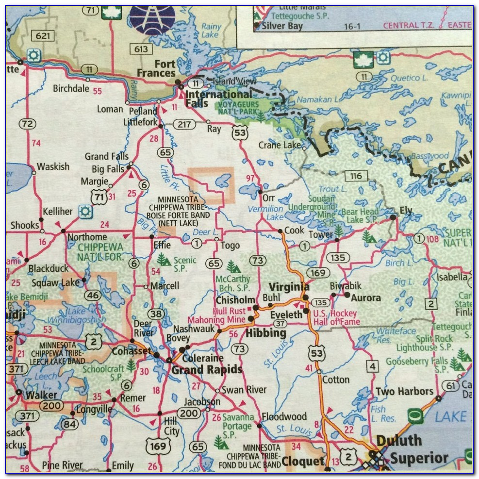 Rand Mcnally Road Map Of Missouri