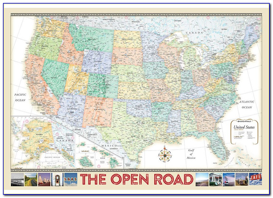 Rand Mcnally Road Maps Usa