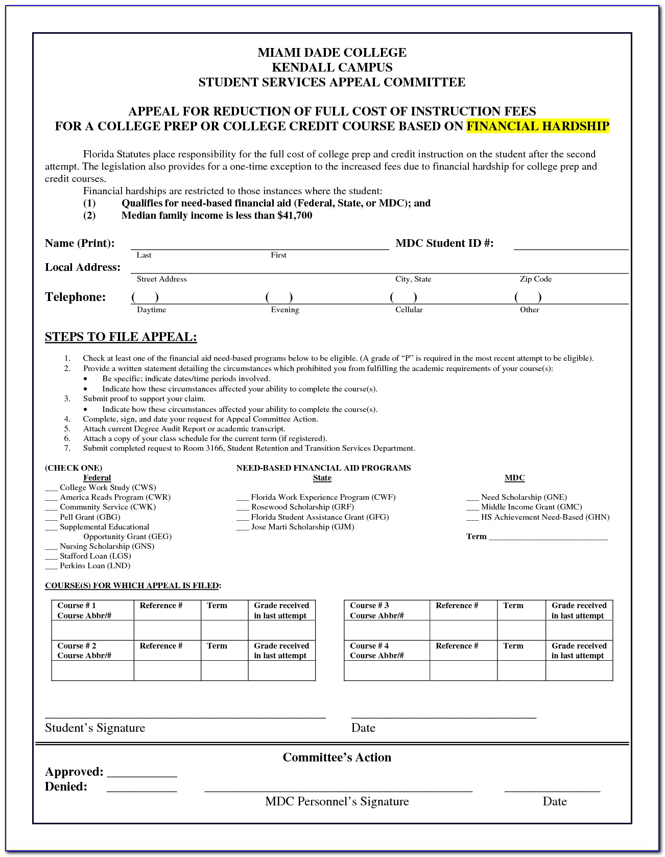 State Of Florida Simple Divorce Forms
