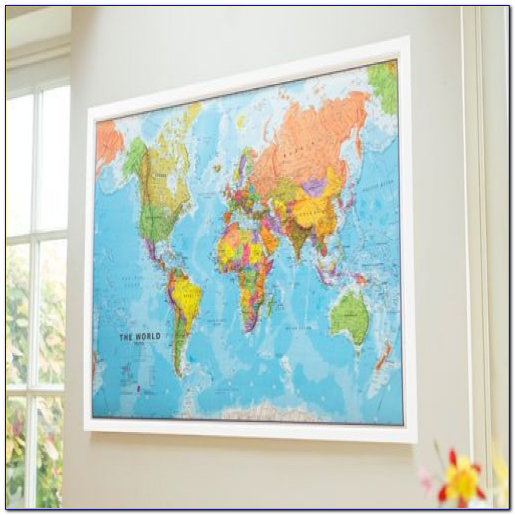 Large Framed World Map Large Framed World Map Dbbaddcdb Luxury Framed World Map Map