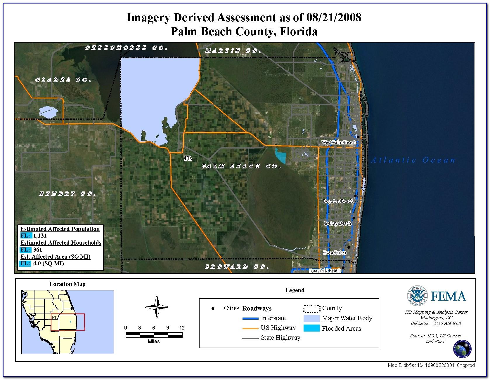 Fema Flood Maps Palm Beach County Florida