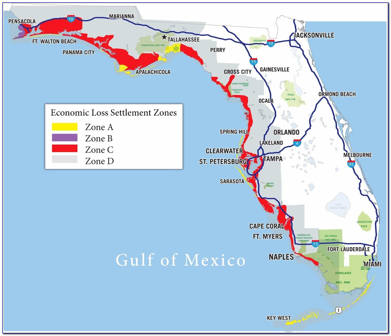 Florida Flood Zone Map Palm Beach County