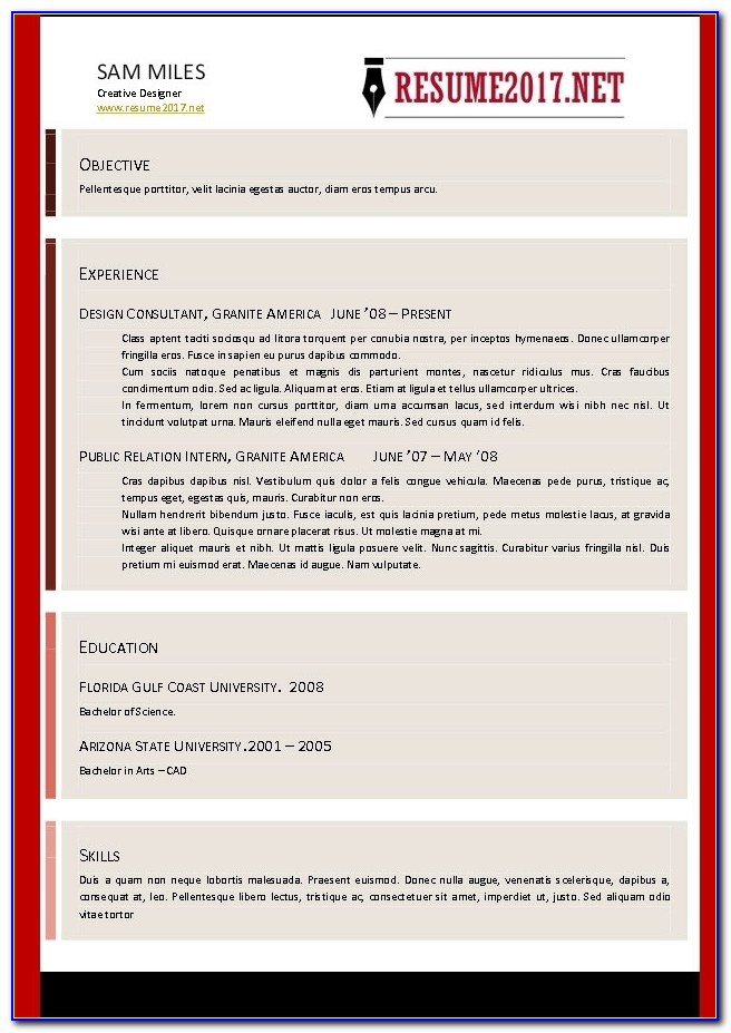 Online Resume Builder Free Resume Example Resume Creator Resume With Free Resume Builder Online 2017