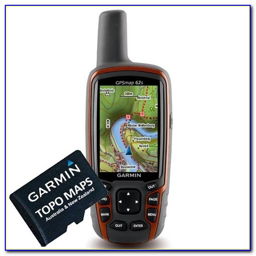 Garmin Handheld 64st Gps + Maps Black