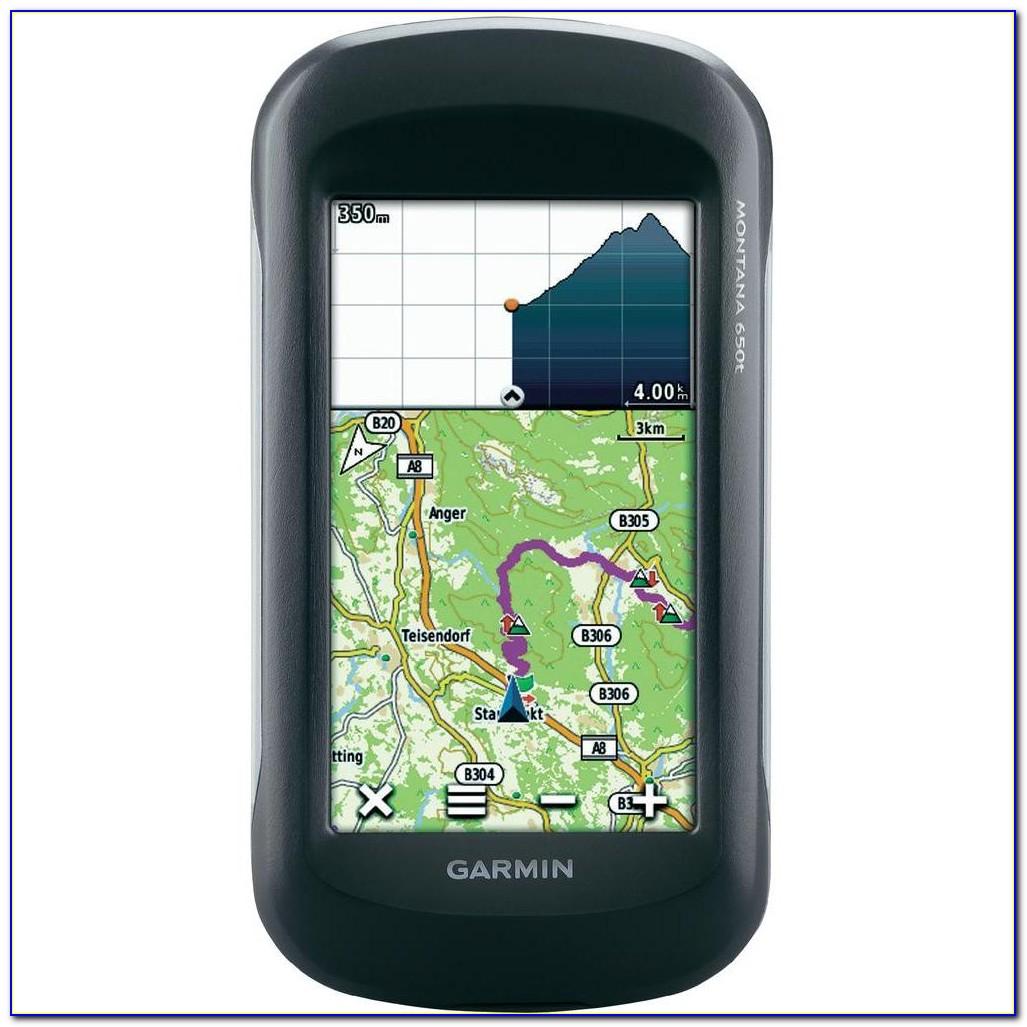 Garmin Montana 650t Marine Maps