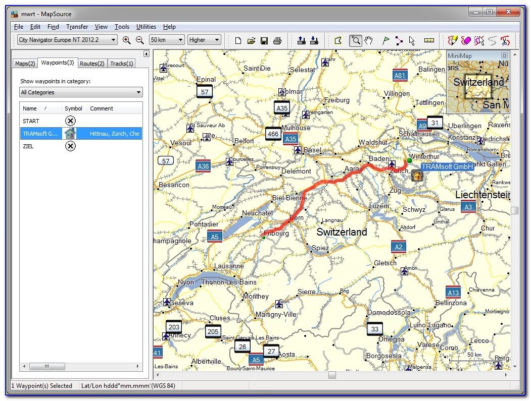Garmin Nuvi 1300 Marine Maps