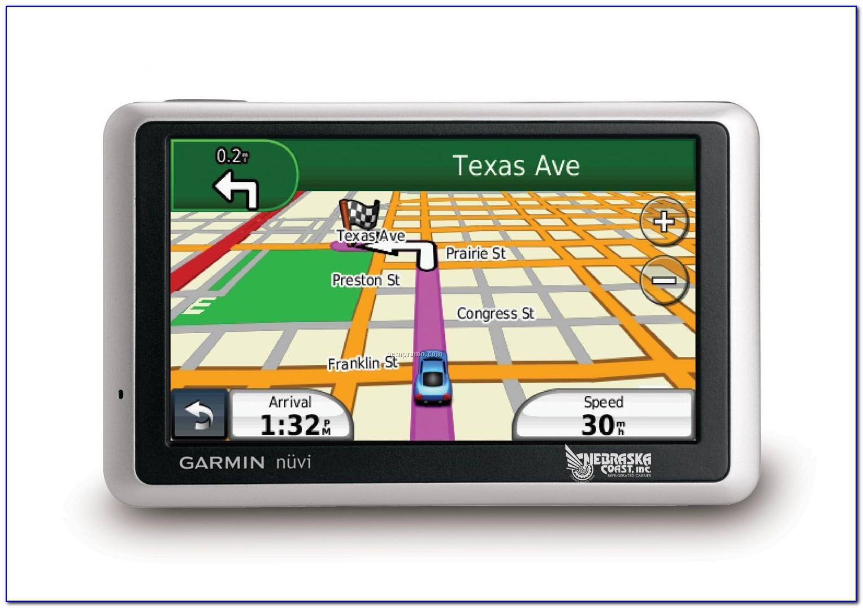 Garmin Nuvi 1450 Won't Update Maps