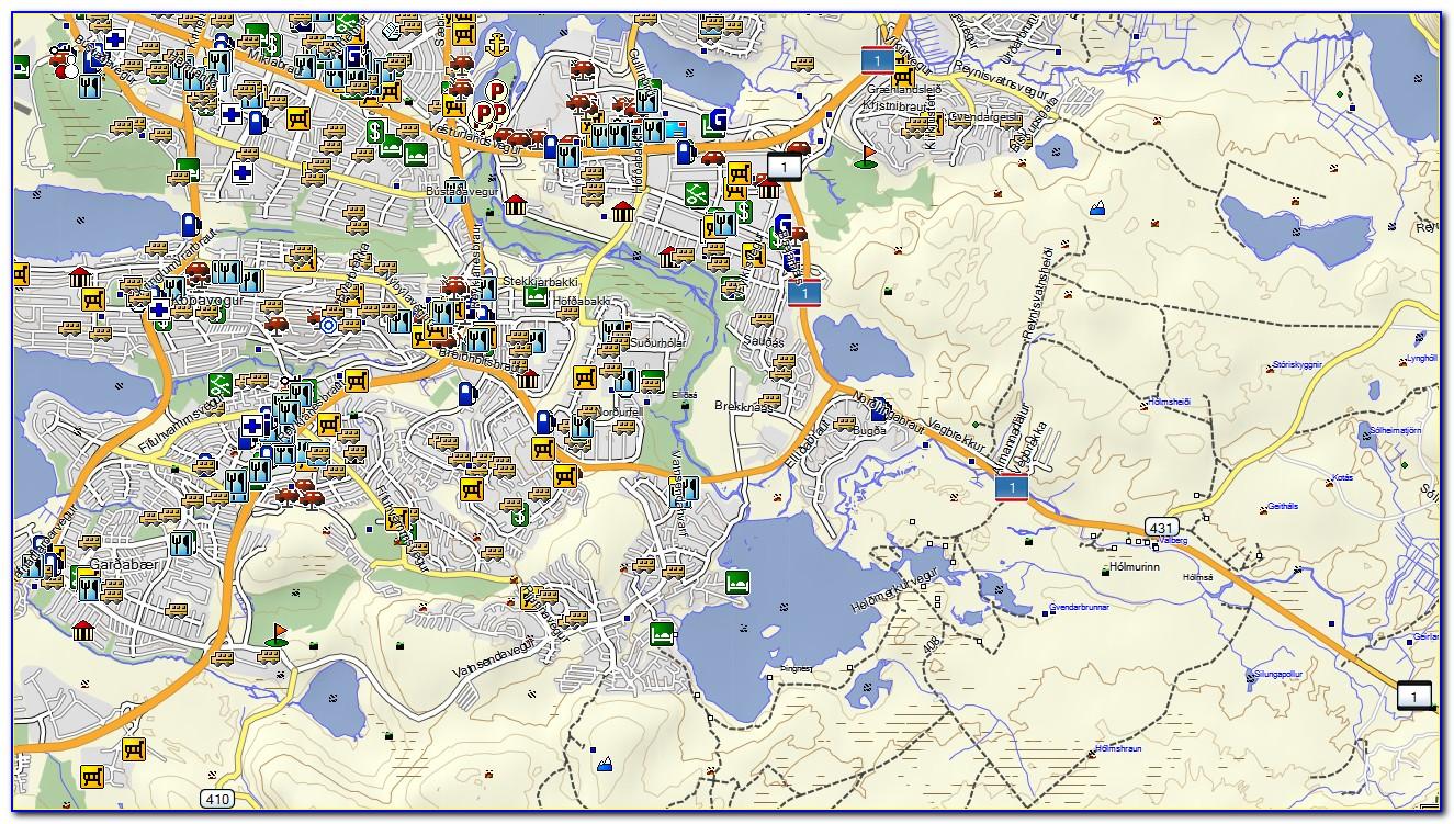 Garmin Oregon 450 Marine Maps