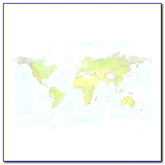 Ikea Premiar Picture World Map Wall Decoration With Frame