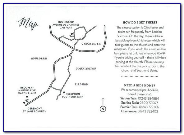 Invitation Map Creator Online