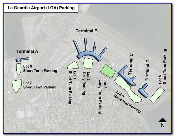 Laguardia Airport Long Term Parking Map
