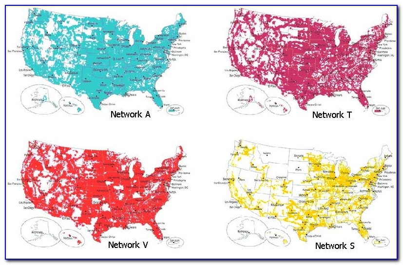 Cell Coverage Map All Carriers - Maps : Resume Examples ...