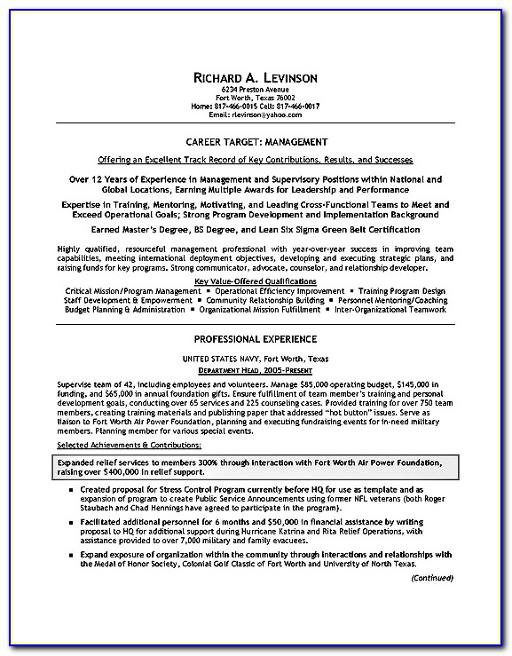 Resume Example Military Resume Builder 2017 Resume Builder ...