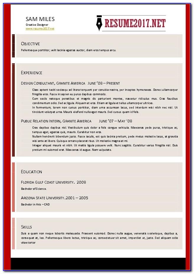 Best Free Online Resume Builder Services 2017 Online Resume With Regard To Free Online Resume Builder 2017
