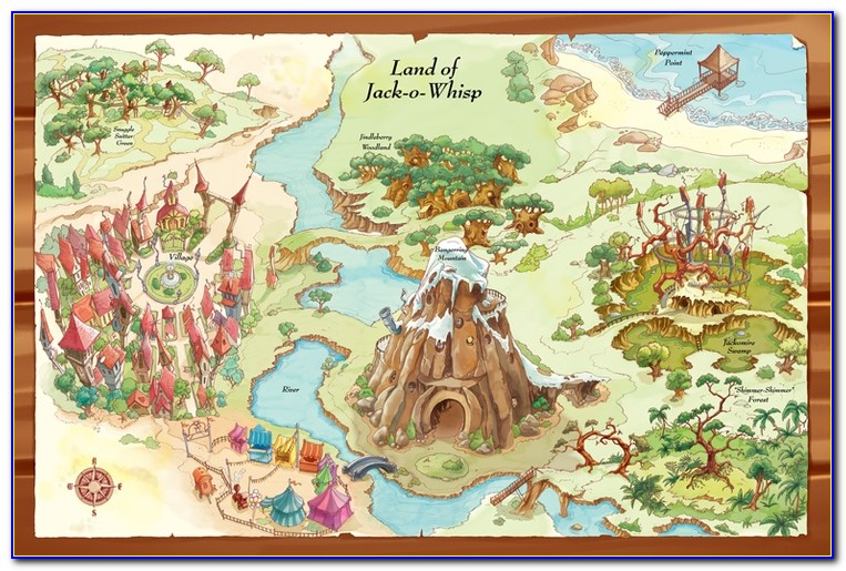Picture Books With Maps In Them