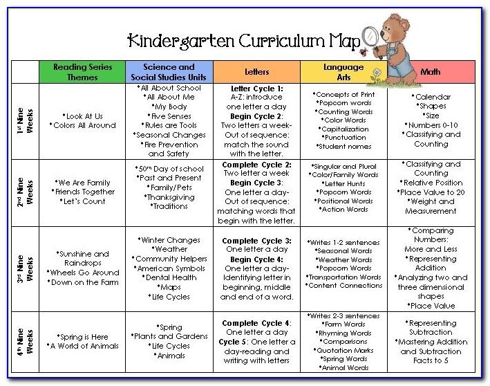 Preschool Map Activity