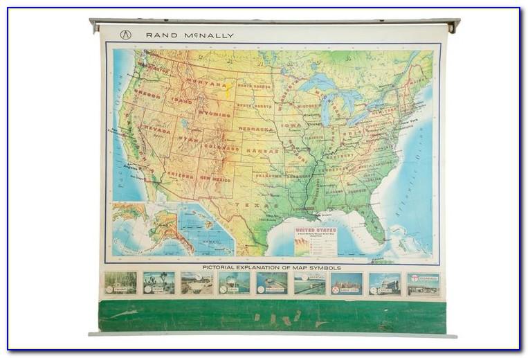 Rand Mcnally Classic World Map Laminated
