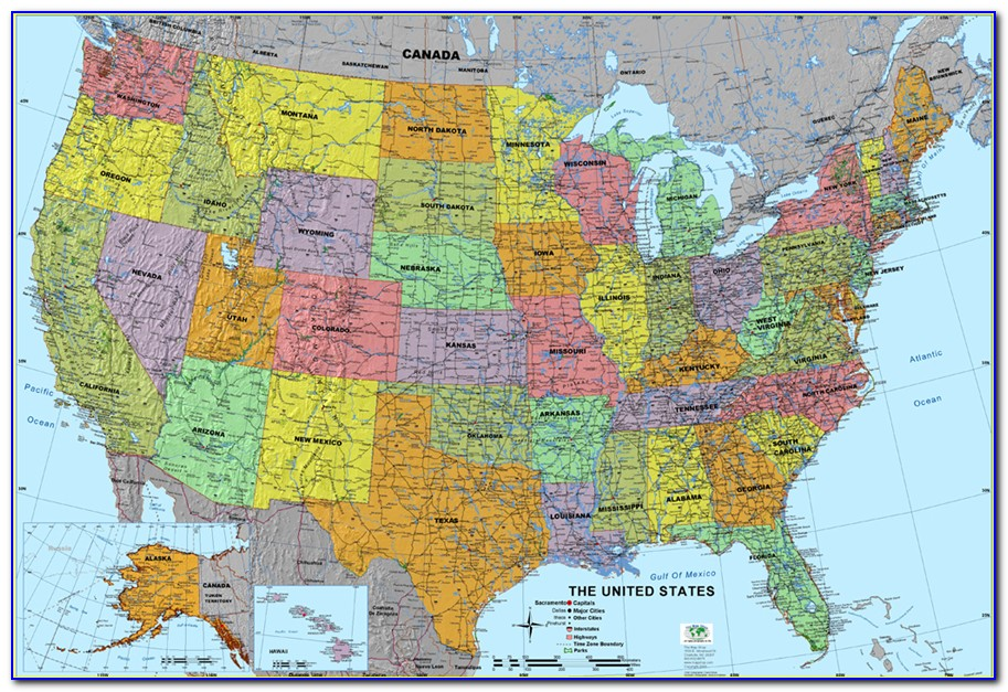 Rand Mcnally Map Of Usa