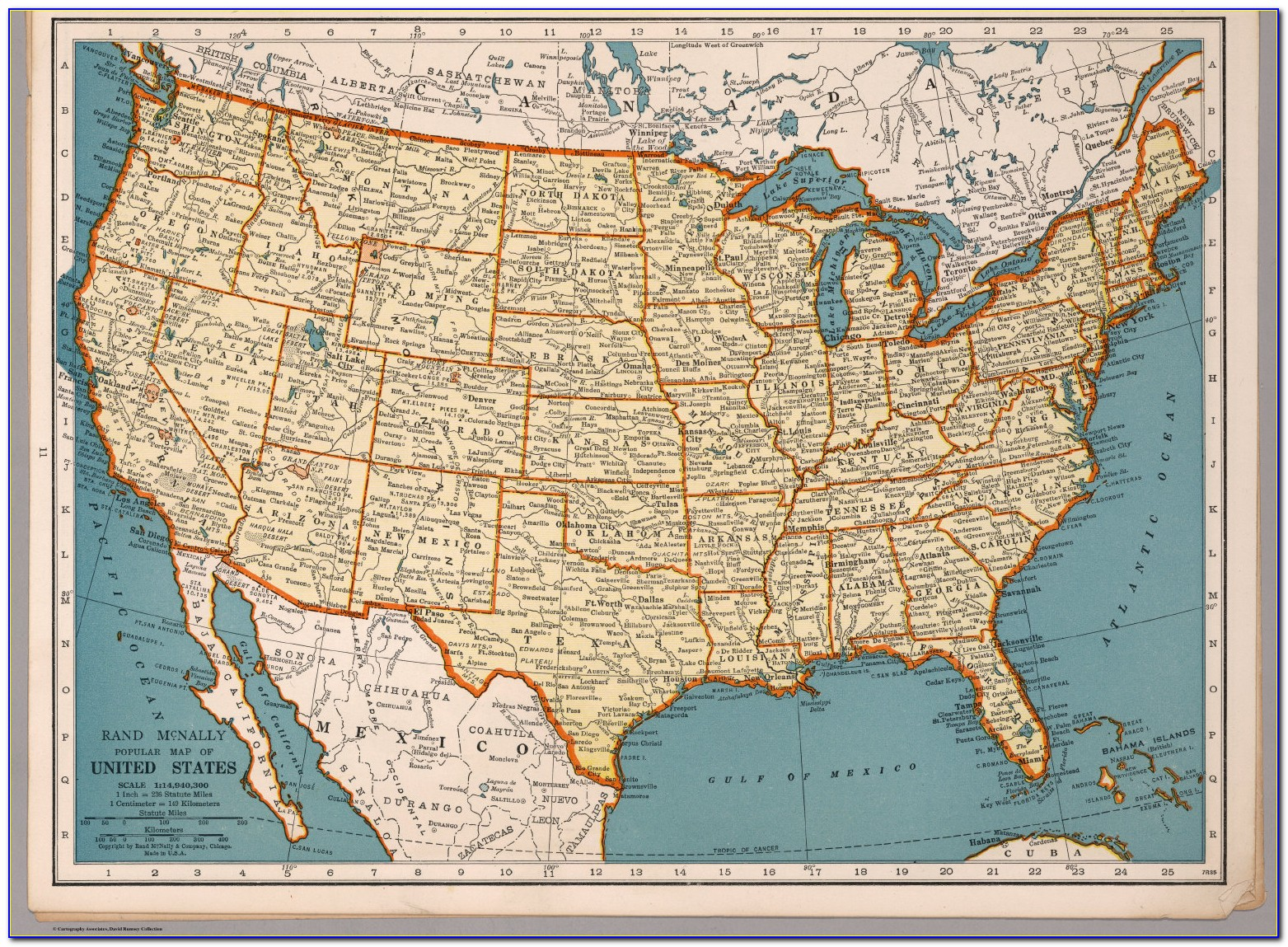 Rand Mcnally State Map Collection