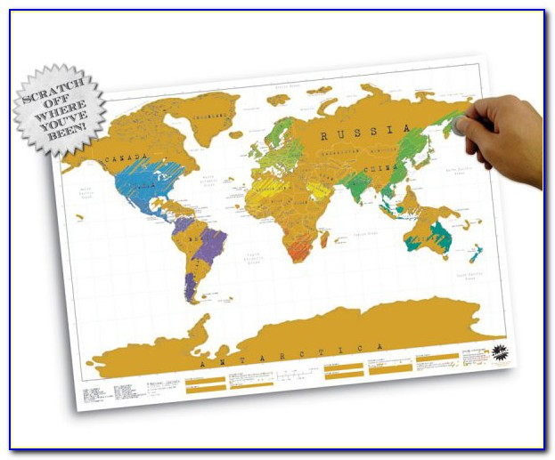 Scratch Off Map Amazon