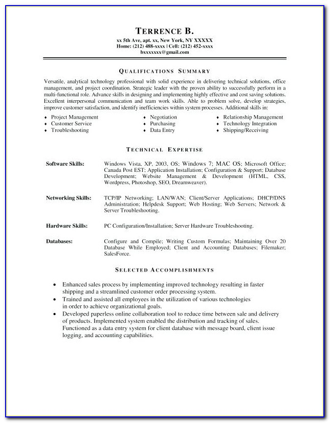 Top Resume Writers Nyc