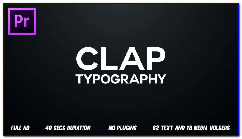 After Effects Kinetic Typography Templates Free
