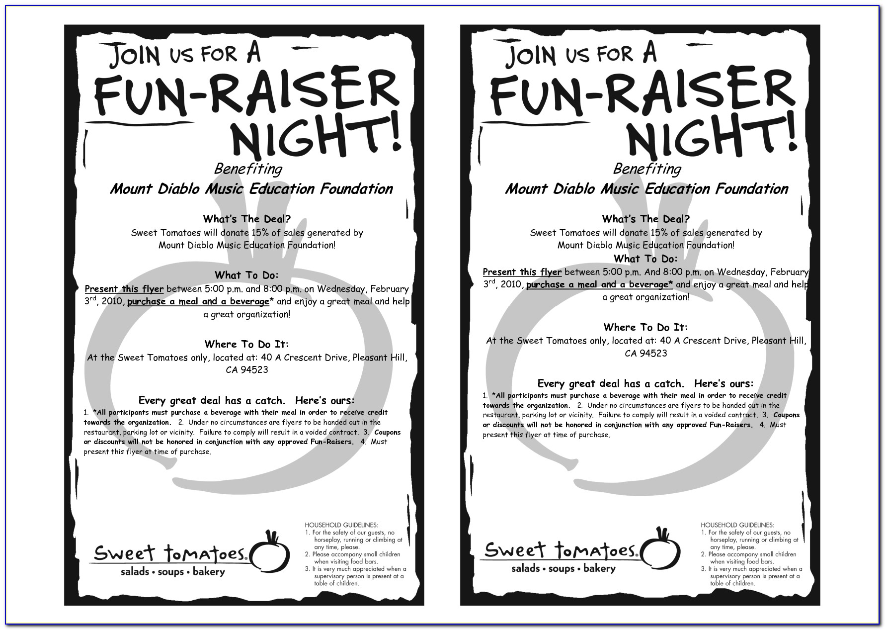 Bbq Fundraiser Flyer Templates Free