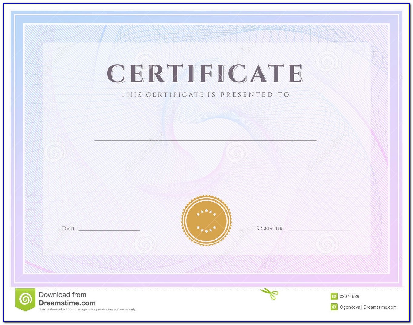 Business Gift Certificate Templates
