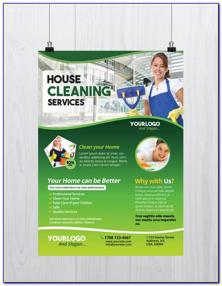 Carpet Cleaning Flyers Templates
