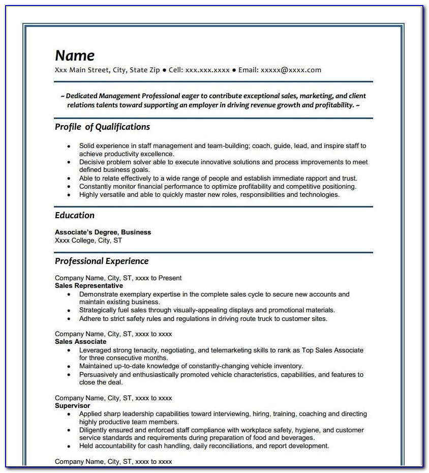 Certified Professional Resume Writer Nyc