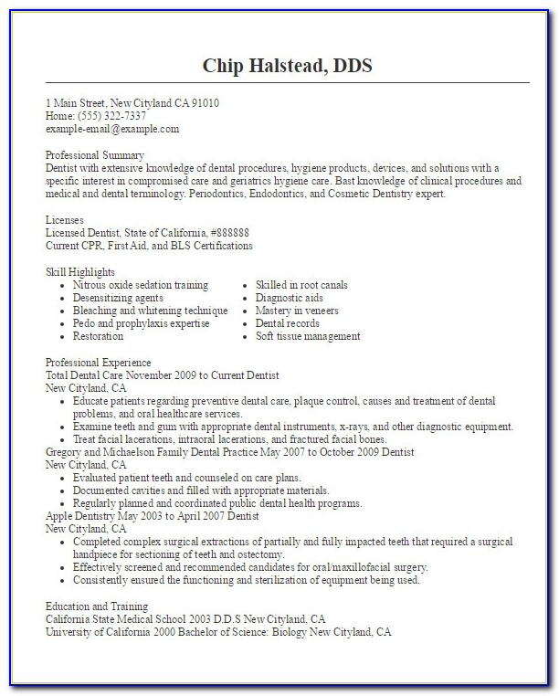 Doctor Resume Templates 15 Free Samples Examples Format Dental Resume Format Dental Resume Format