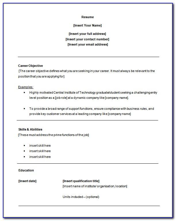 Entry Level Customer Service Resume Samples Free