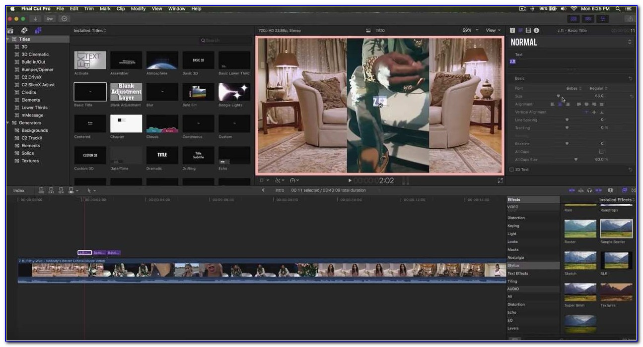 Youtube Intro Templates Final Cut Pro X New How To Make An Intro Final Cut Pro X