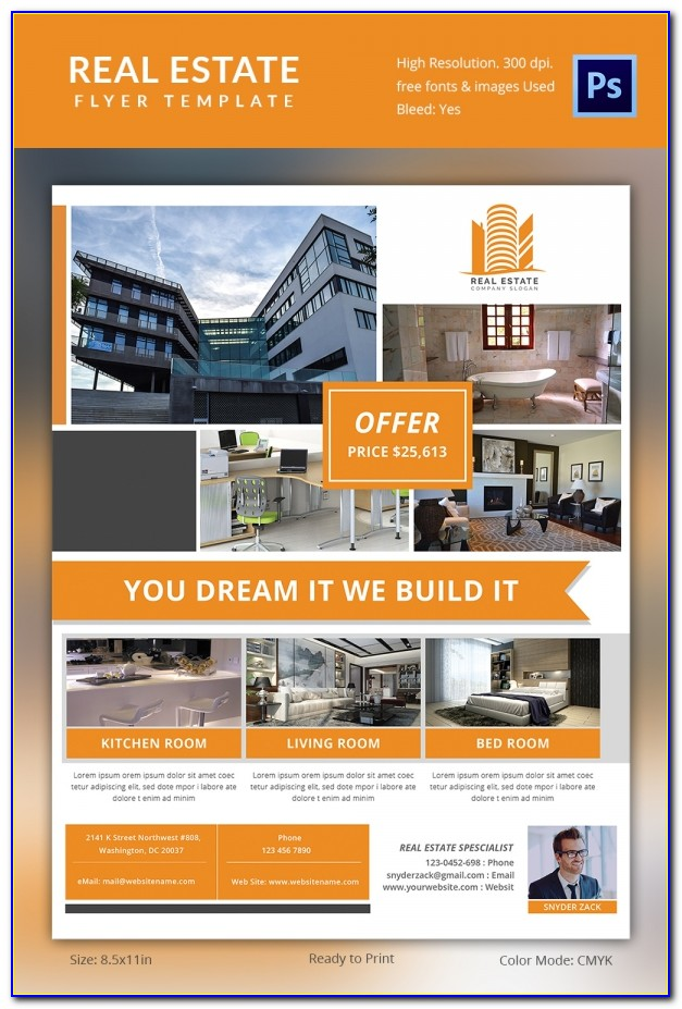 Free Commercial Real Estate Flyer Templates