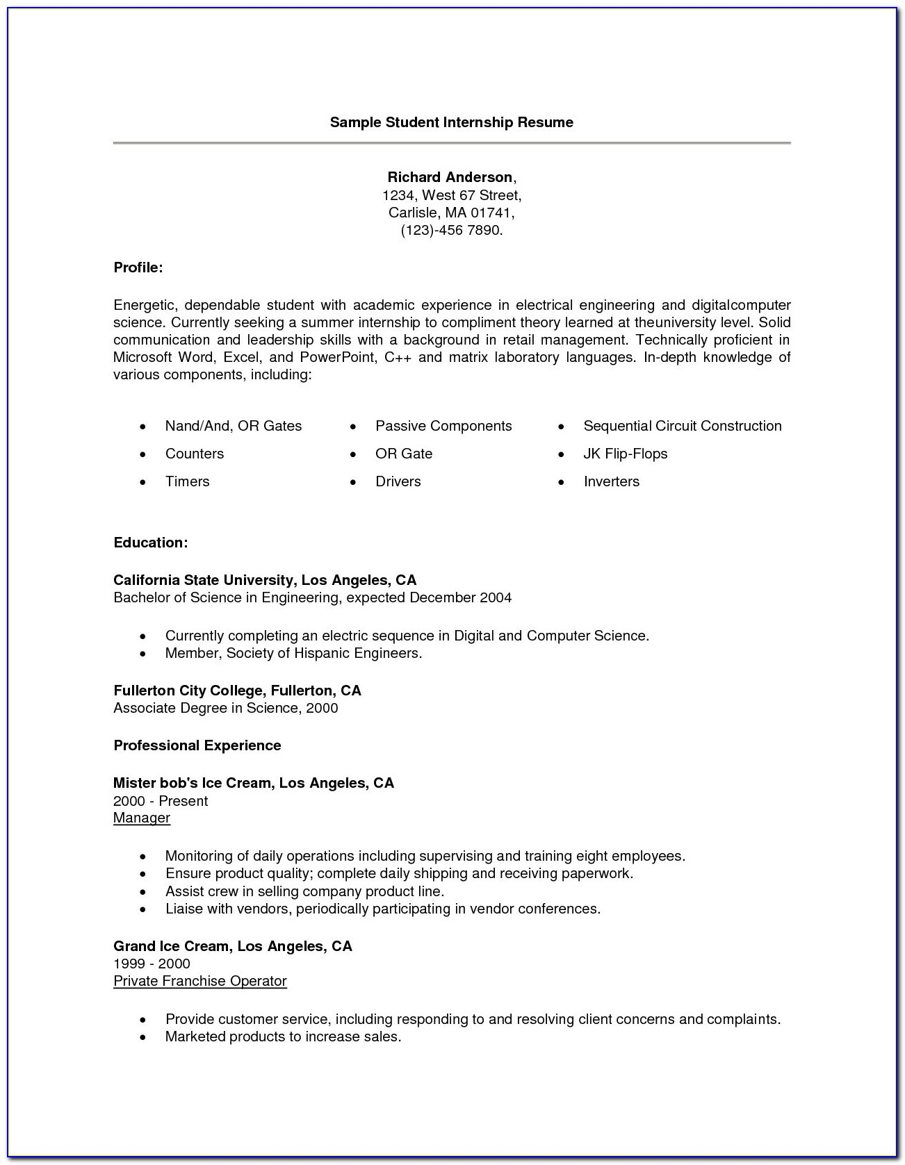 High School Resume Template Word Examples 21 High School Student Resume Template
