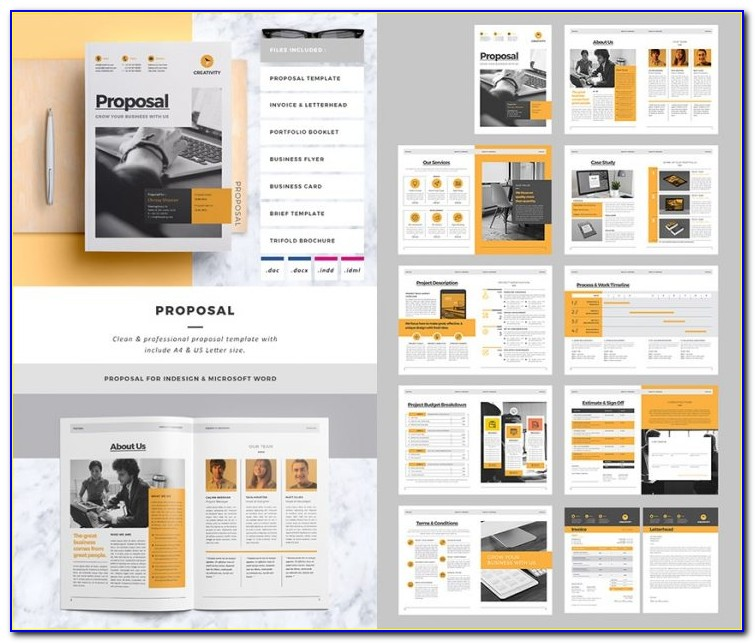 Free Proposal Templates Indesign