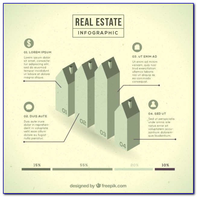 Free Real Estate Infographic Template